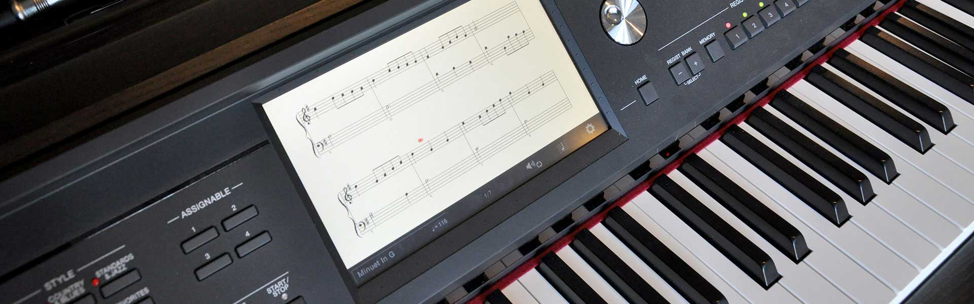 Digital Pianos at Riverton Piano Company