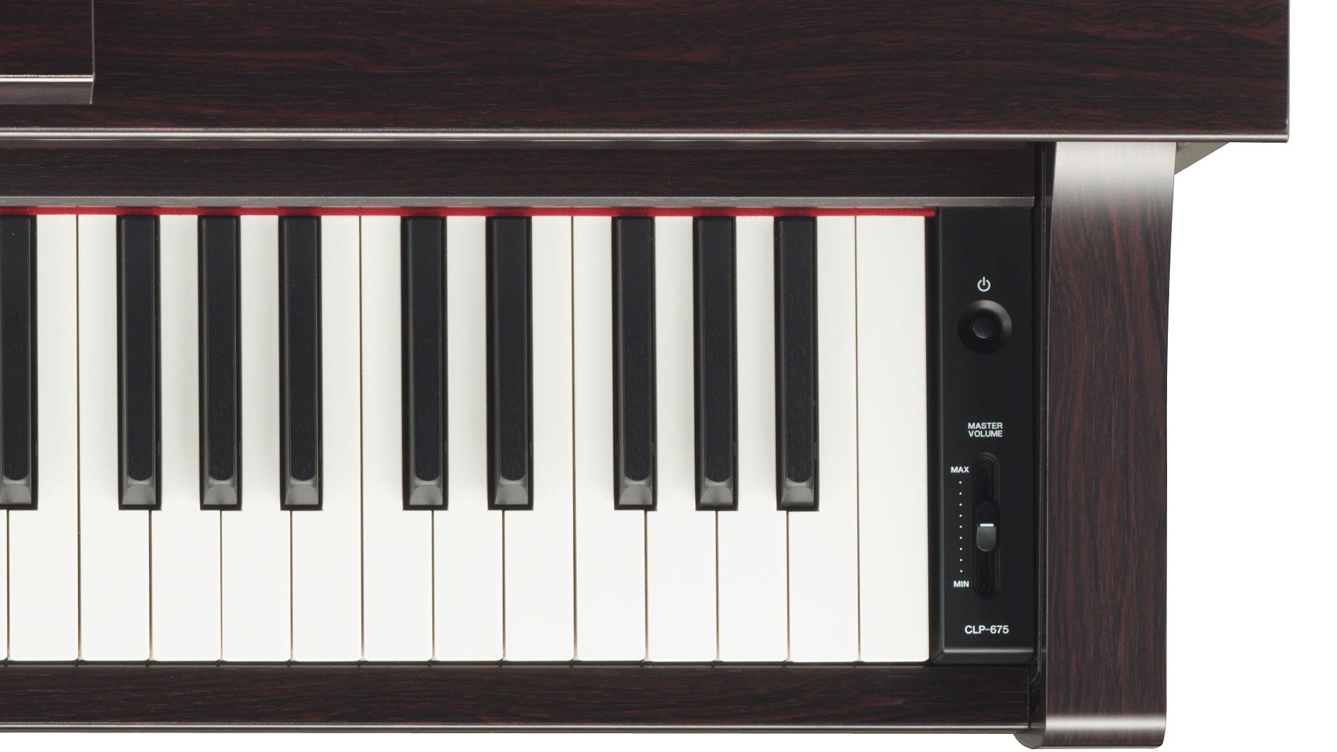 clp 675 yamaha clavinova digital piano buy online yamaha digital pianos electronic piano. Black Bedroom Furniture Sets. Home Design Ideas