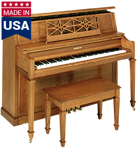 5057 American Baldwin Upright Piano