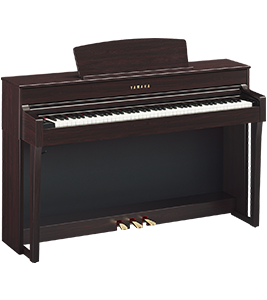 CLP-645 Yamaha Clavinova at Riverton Piano Company