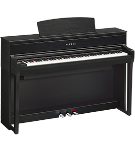 CLP-675 Yamaha Clavinova at Riverton Piano Company