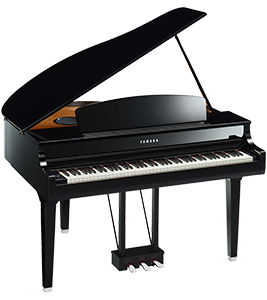CLP-695 GP Yamaha Clavinova at Riverton Piano Company