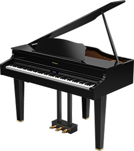 Roland GP-607 Digital Mini Grand Piano